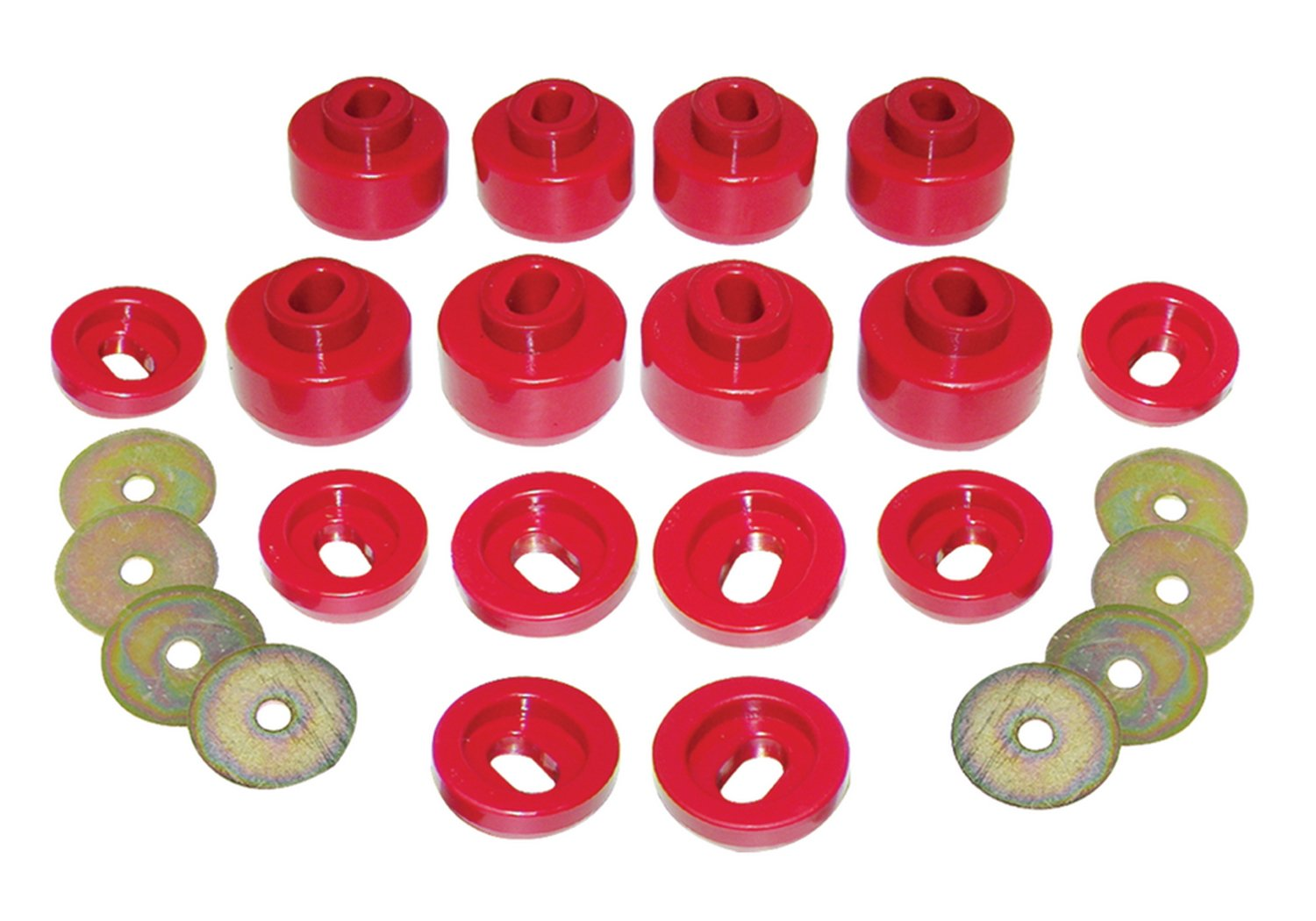 Prothane 7-143 Red Body Mount
