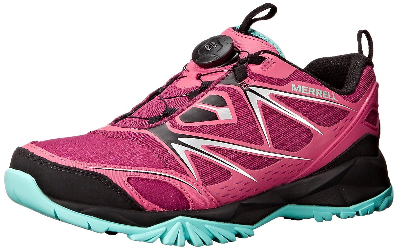 Merrell Women's Capra Bolt Boa Hiking Shoe B00YBBHCSC 5.5 B(M) US|Bright Red