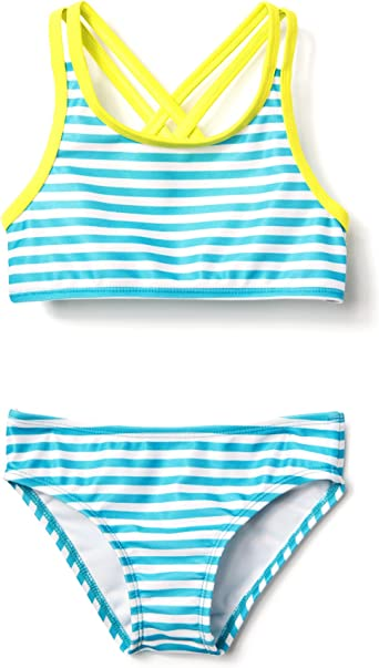 Gymboree Little Girls 3-Piece Rashguard//Bikini Set