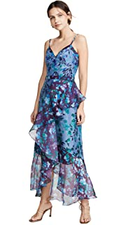 eff7caa242c Marchesa Notte Women s Flutter Sleeve Cocktail Dress at Amazon ...