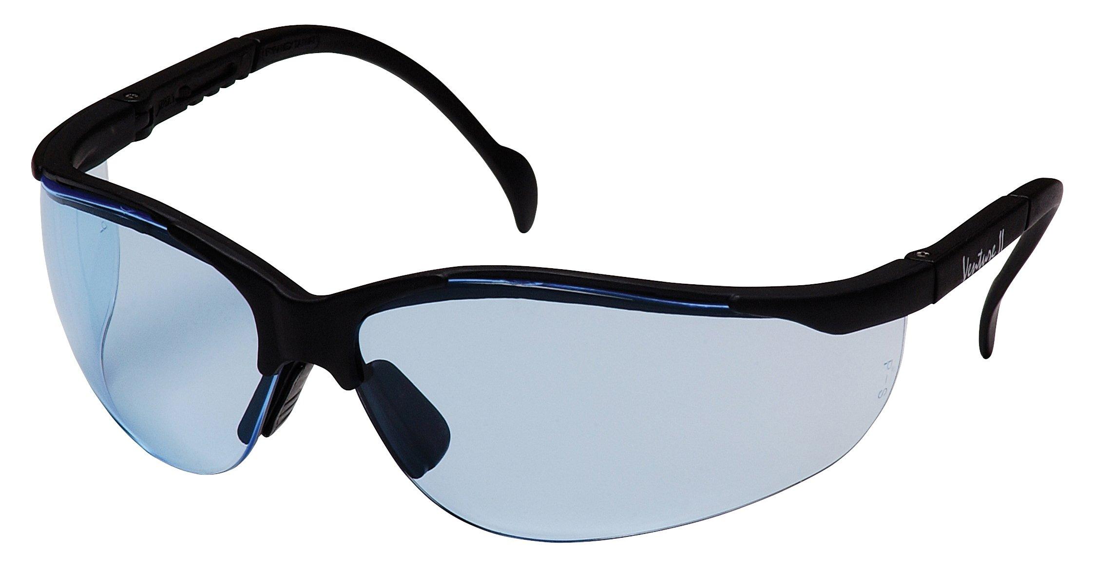 Pyramex Venture Ii Safety Eyewear, Infinity Blue Lens With Black Frame by Pyramex Safety