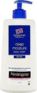 NEUTROGENA Norwegian Formula Deep Moisture Body Lotion Dry 400mL, 400 milliliters