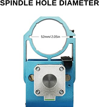 52 mm Diameter for 3018-PRO Genmitsu Aluminium Z-Axis Spindle Motor Mount 300-500W Spindle Mount