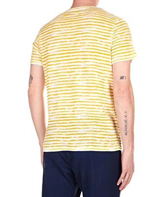 Majestic FILATURES - Camiseta - para Hombre Amarillo XL: Amazon.es ...