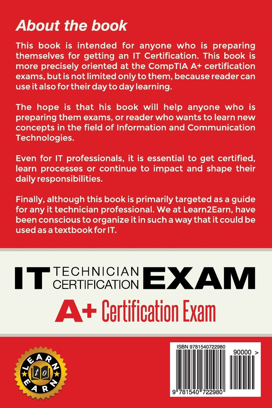 It technician certification exam questions and answers for it technician certification exam questions and answers for comptia a 9781540722980 computer science books amazon 1betcityfo Gallery
