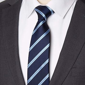 rbocot Hombres Corbata Negocios 8 Cm Corbata A Rayas Para Hombre ...