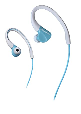 Pioneer SE-E3-GR - Auriculares deportivo (resistente al agua IPX-2 ...