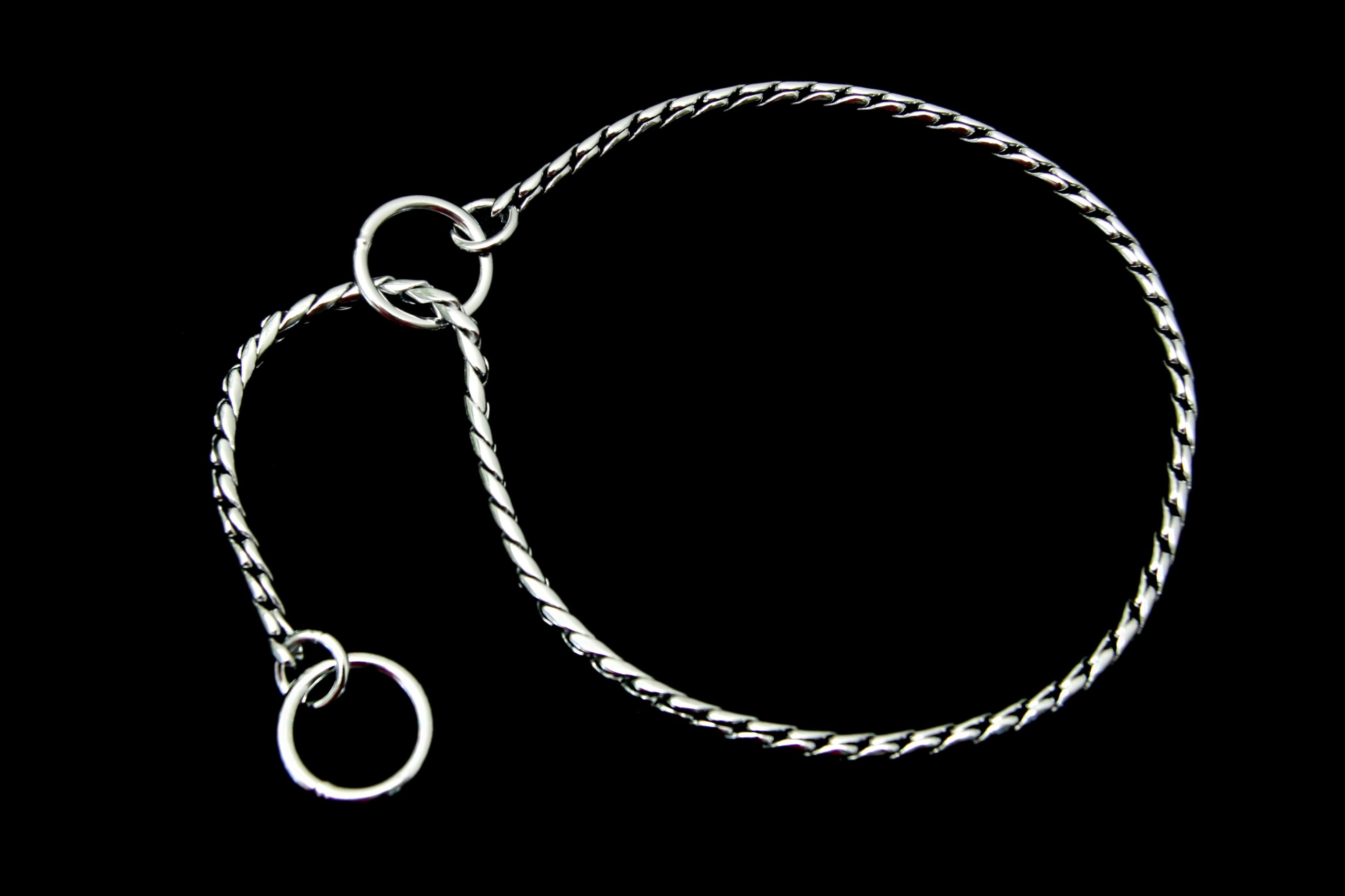 Alvalley Snake Show Chain for Dogs Thickness 5,5 mm x 24 in