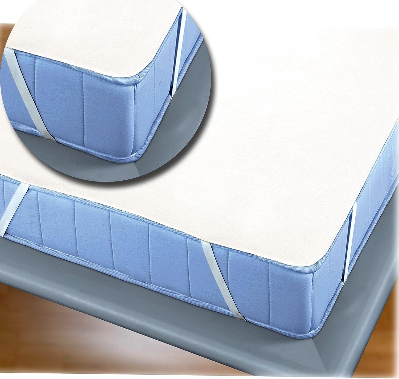 Matratzentopper 140 x 200 cm Matratzenschoner Schonbezug Auflage