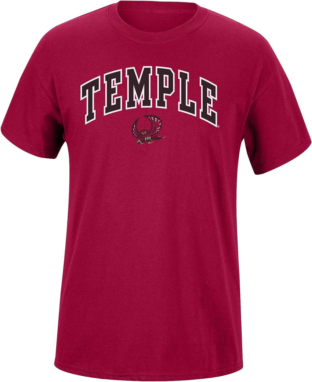 Elite Fan Shop Mens Team Color Arch Short Sleeve T-Shirt Team Color Arch Short Sleeve T-Shirt