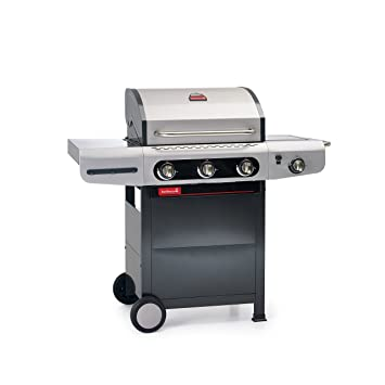 Barbecook 2239231000 Barbacoa de Gas Siesta 310, Gris, 80x76x52.6 cm: Amazon.es: Jardín