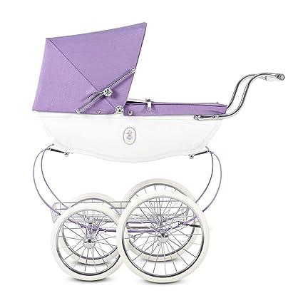 Amazon.com: Cochecito de muñeca con cruz de plata, para bebé ...