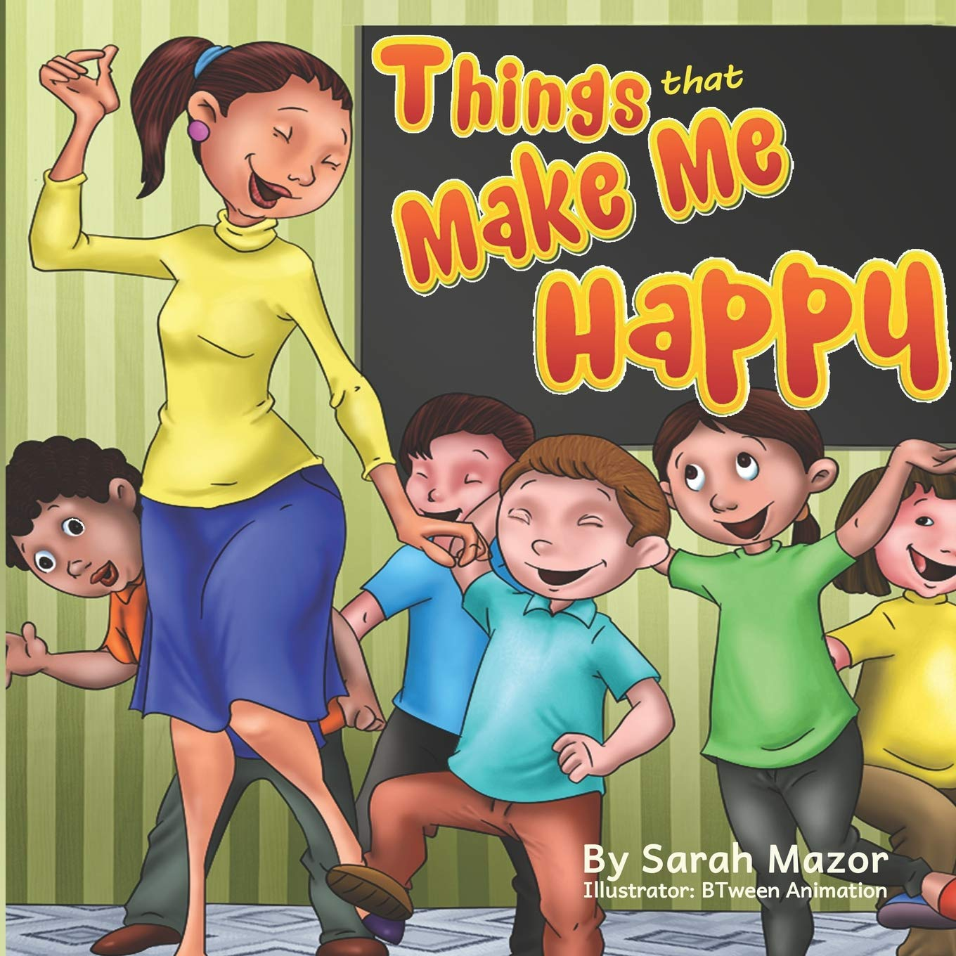 Things that Make Me Happy: Kids Picture Book Story About Feelings ...