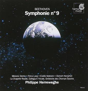 Beethoven: Symphony no. 9 / Herreweghe, Orchestre Des Champs Elysees, et al