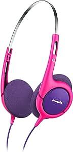 Philips SHK1031 Kids Headphones, Pink/Purple