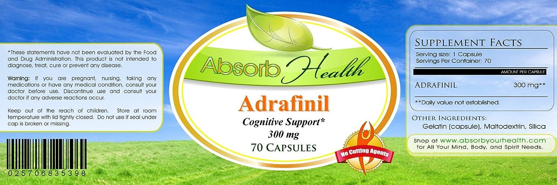 Adrafinil | 300 mg | 30, 70, 100, or 150 Capsules | Nootropic (30)