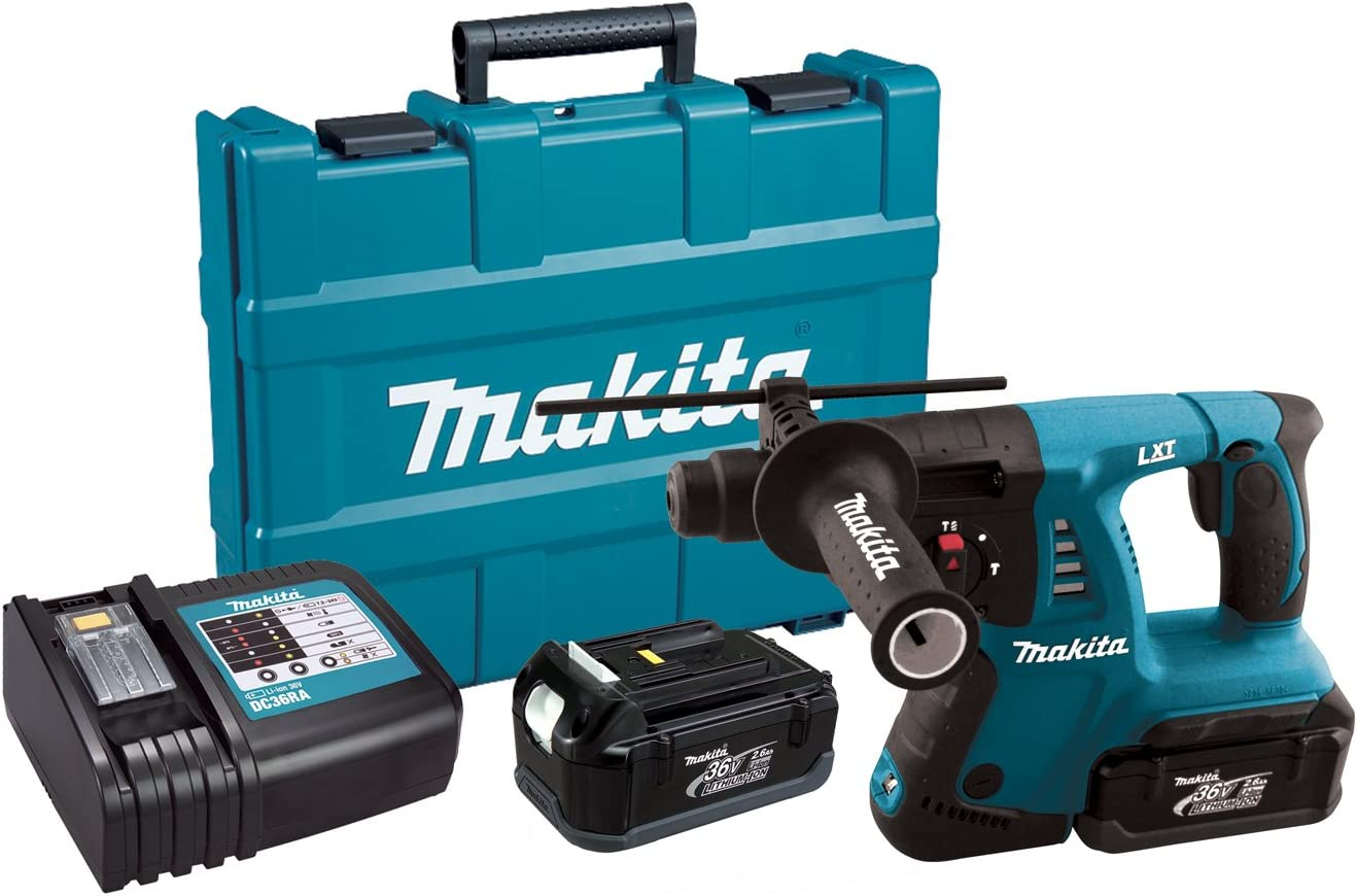 Makita HRH01 36-Volt LXT Lithium-Ion Cordless 1-Inch Rotary Hammer Kit Discontinued by Manufacturer