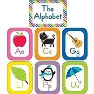 Schoolgirl Style Decorative Just Teach Alphabet Cards Bulletin Board Set (110392)