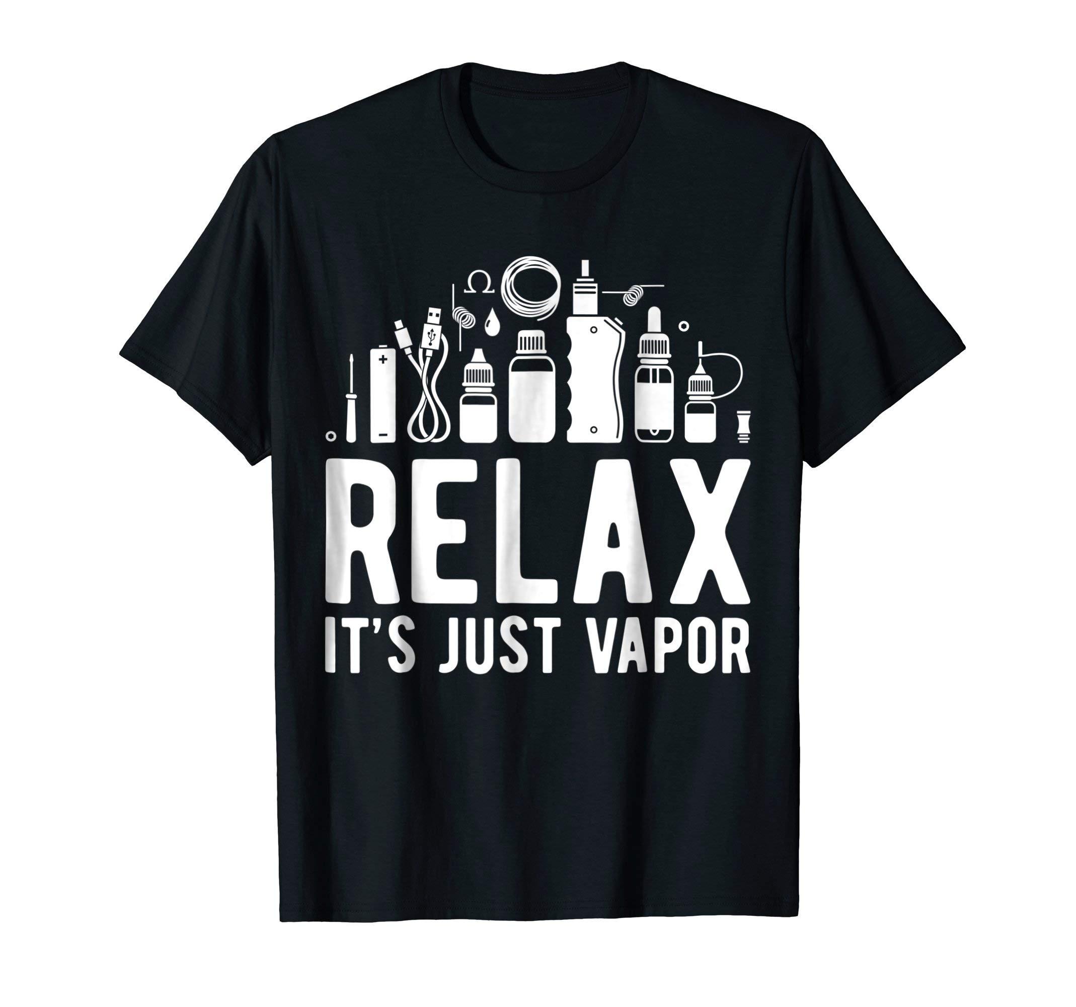 Relax it' just Vapor - Vape T Shirt by Vepe Tee