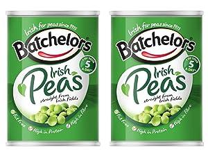 Batchelor's Irish Peas, Ireland, 420g Can 2 pack
