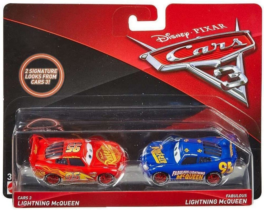 Amazon Com Disney Pixar Cars 3 Lightning Mcqueen And Fabulous