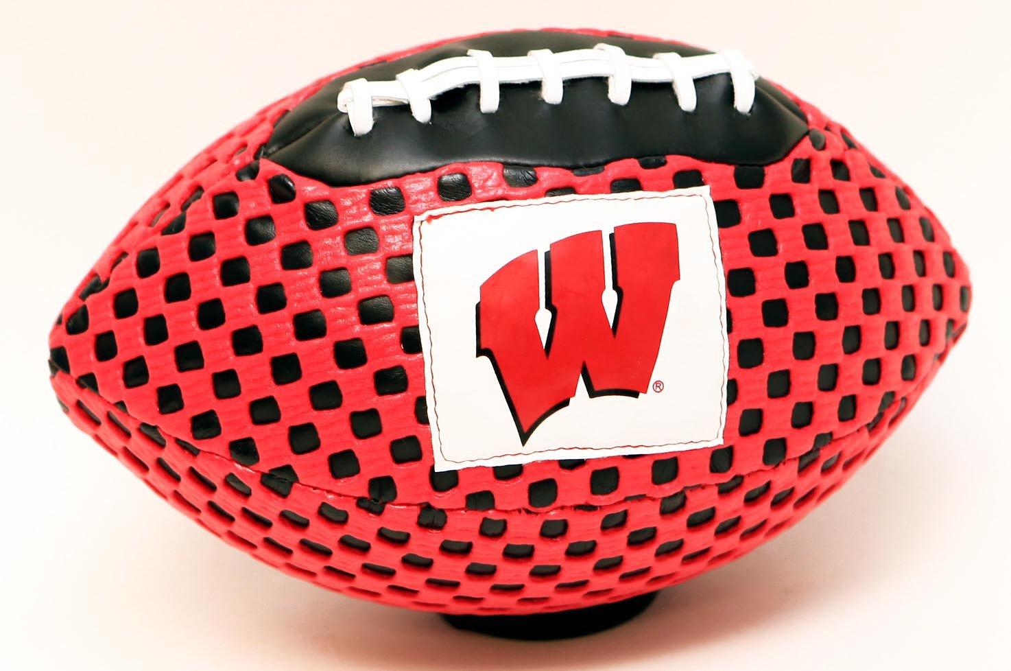 Wisconsin Badgers Fun Gripper 8.5 Football NCAA By: Saturnian I