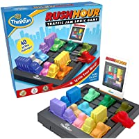Rush Hour Traffic Jam Logic Game and STEM Toy for Boys and Girls Age 8 and Up -...