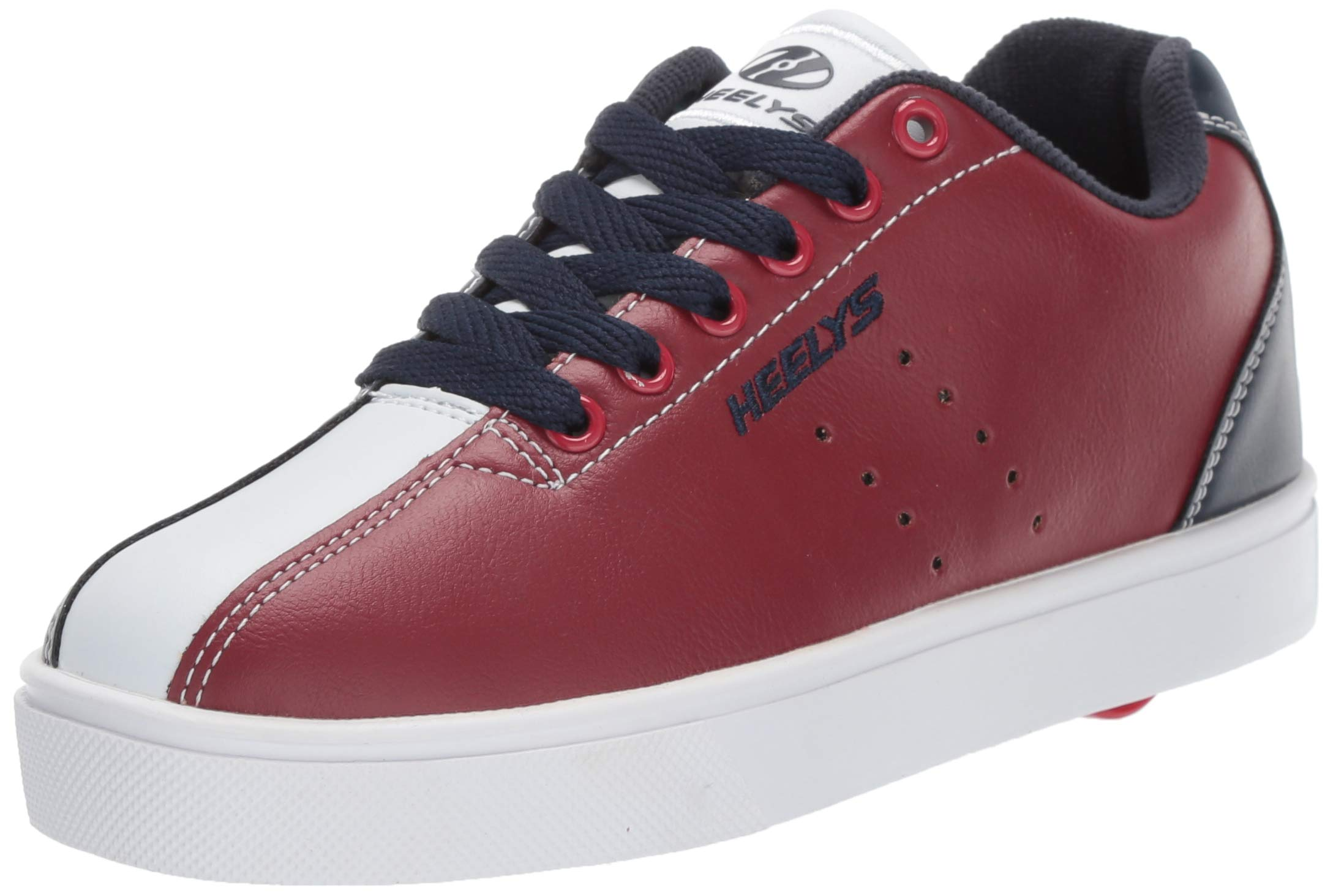 Heelys Boys' Alley Tennis Shoe, red/Navy/White, 1 M US Big Kid