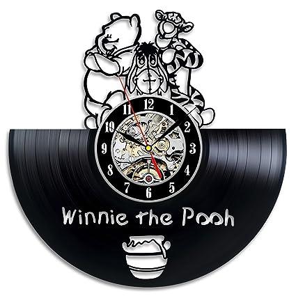 Amazoncom Winnie The Pooh Friends Vinyl Record Wall Clock