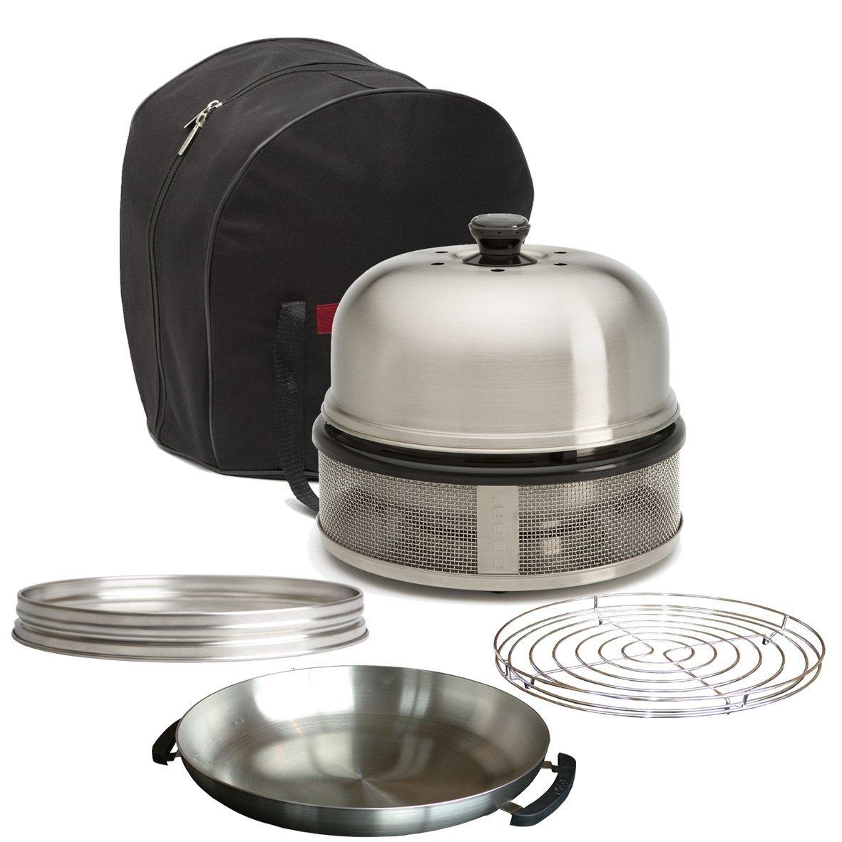 Cobb Bbq Aanbieding.Cobb Premier Compact Combo 4 Includes Cobb Bag Rack Compact Extension Fry Dish