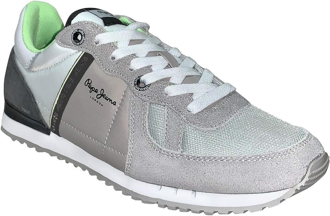 Pepe Vaqueros, Tinker Zero ATH PMS30612, para Hombre, Color Gris Claro: Amazon.es: Zapatos y complementos
