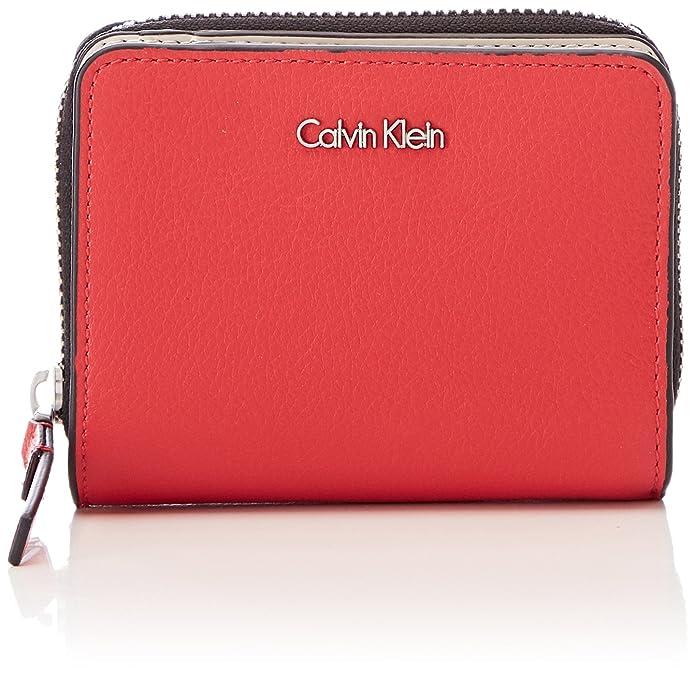 Calvin Klein Frame Medium Zip W/Flap - Carteras Mujer