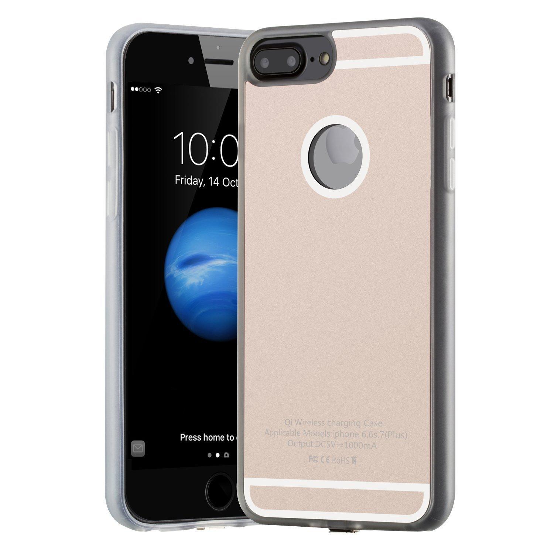 Cargador inalámbrico iPhone 7Plus/6sPlus/6Plus,Antye Qi ...