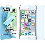 SDTEK iPod Touch 6 6G 6th Generation Verre Trempé Protecteur d'écran Protection Résistant aux éraflures Glass Screen Protector Vitre Tempered
