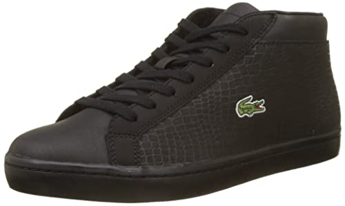 eab8885932df Lacoste Men s Straightset Sp Chuk 417 1 Cam Hi-Top Trainers  Amazon ...
