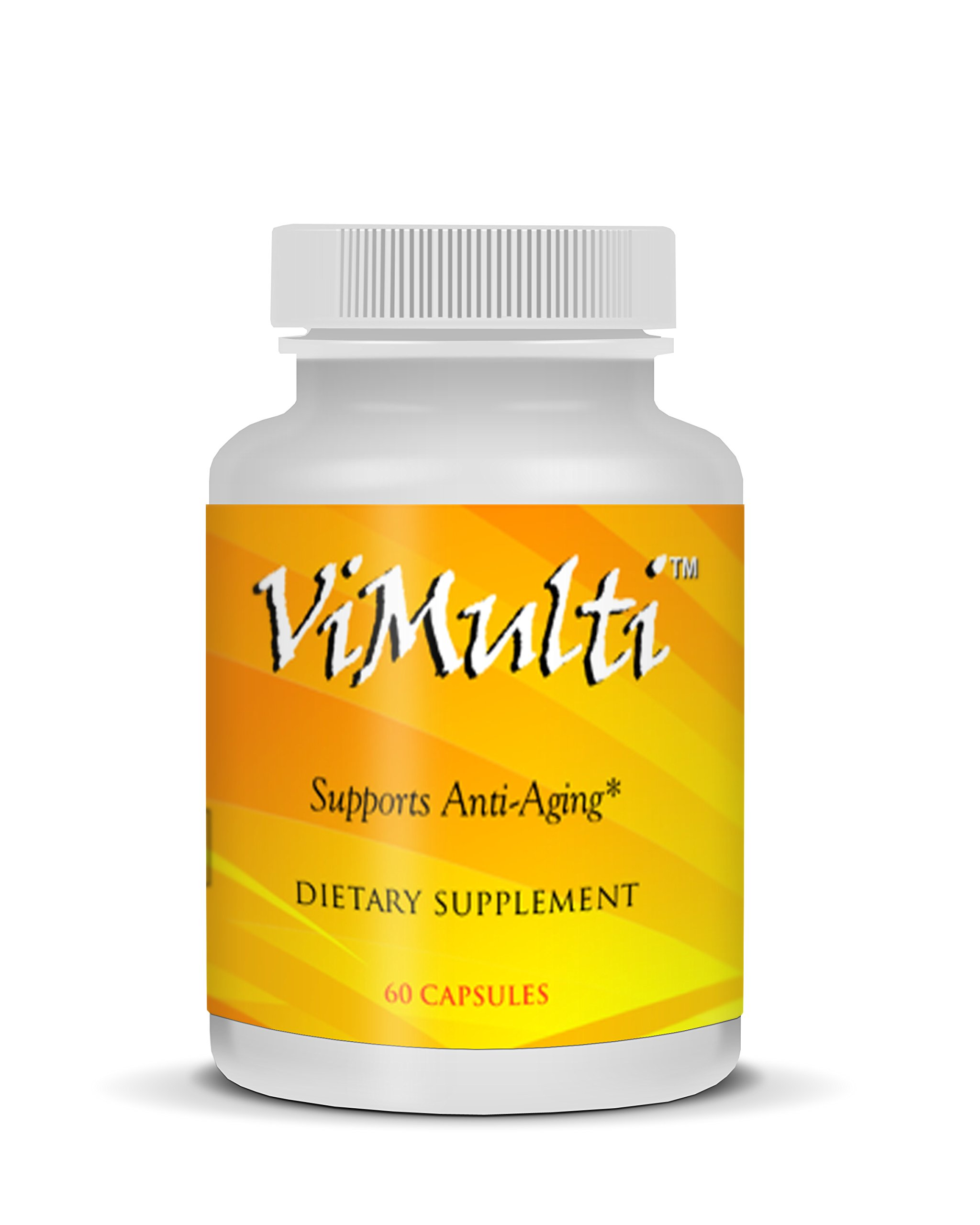 Vimulti Anti-Aging 3 Pack Supports Strong Hair Growth, Stronger Nails While Helping Manage Weight and Muscle Growth
