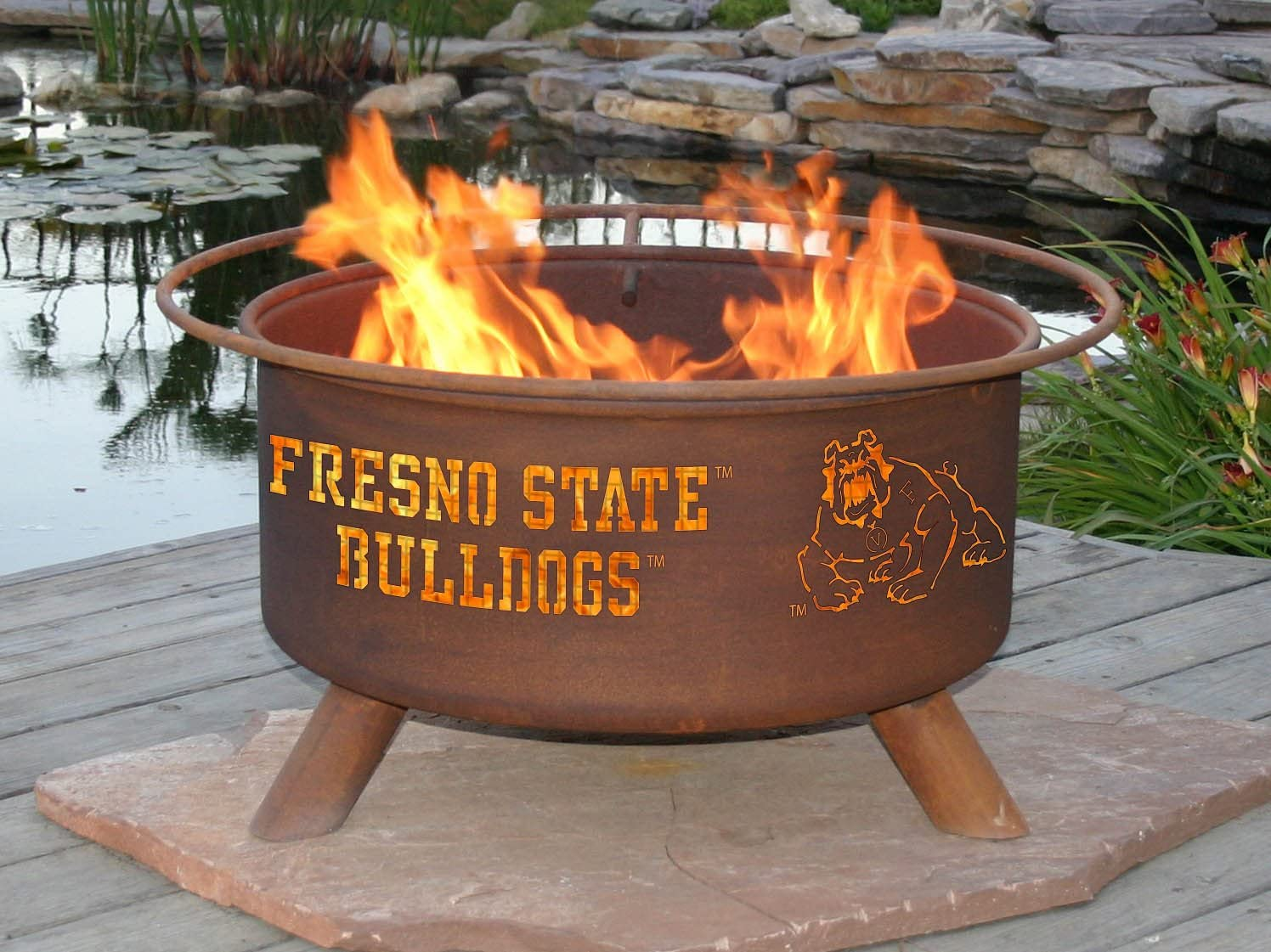 Patina F468 Fresno State Fire Pit