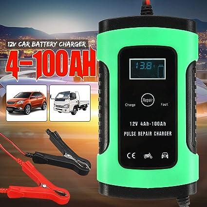 Homeve - Cargador de batería Inteligente para Coche (12 V, 5 ...