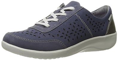 Rockport Women's Emalyn Tie Fashion Sneaker, Blue, ...