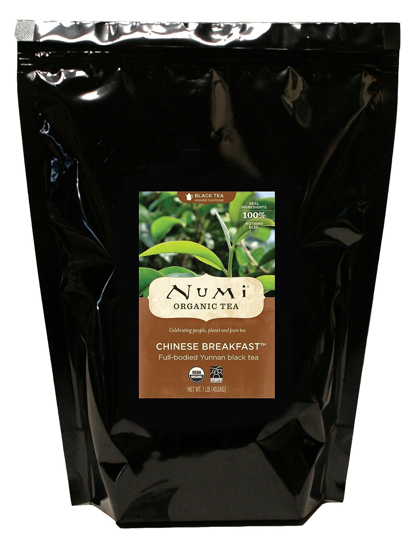 Bulk organic tea - Amazon Com Numi Organic Tea Chinese Breakfast Yunnan Full Leaf Black Tea Loose Leaf 16 Ounce Bulk Pouch Grocery Gourmet Food