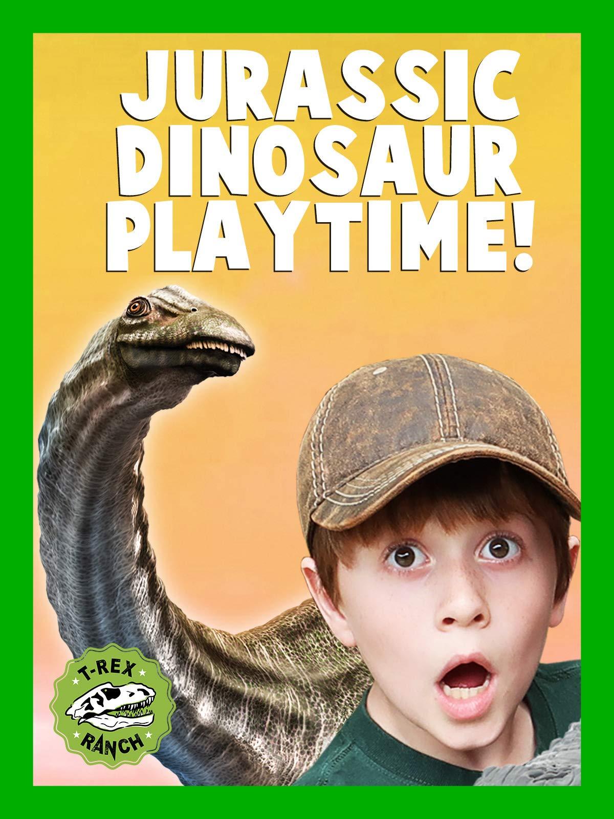 Jurassic Dinosaur playtime! T-Rex Ranch