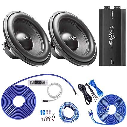 Amazon com: Skar Audio (2) SDR-15 D4 1,200 Watt Max Power 15