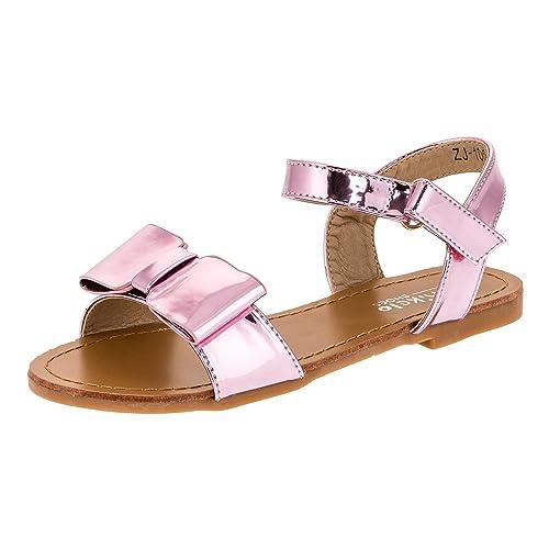 Mikelo Modische Kinder Mädchen Sandaletten Sandalen
