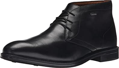 Tan rápido como un flash Maravilla Estallar  Amazon.com | CLARKS Men's Black Leather Chilver Hi GTX 12 D(M) US | Chukka