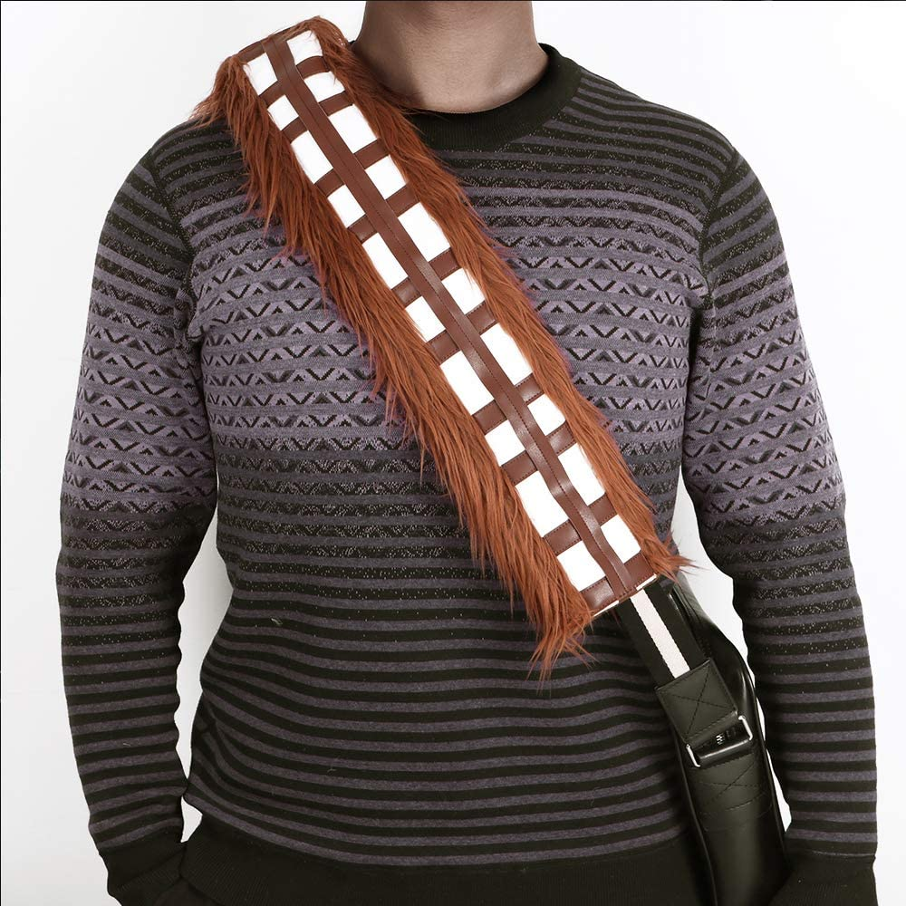GNEGNI Star Wars Chewbelta Chewbacca Seat Belt Shoulder Cover Pad for Car Handbag