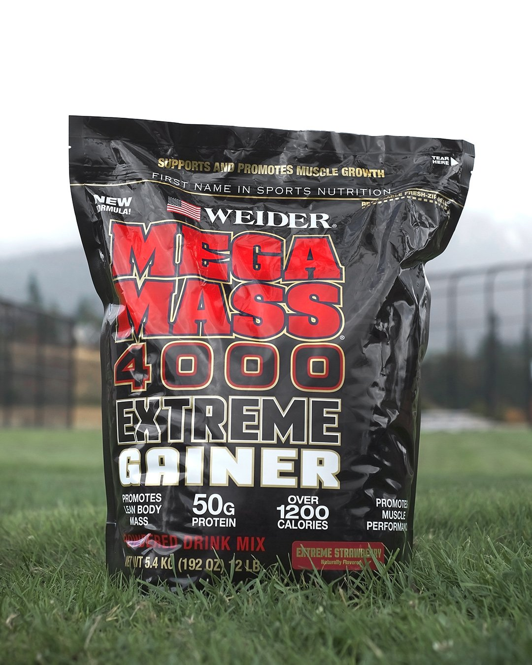 Weider Megamass 4000 Extreme Gainer - Our Best Selling Gainers - 50 Grams of Protein per Serving - Over 1,200 Calories - Over 250 Grams of Carbs by Weider (Image #6)