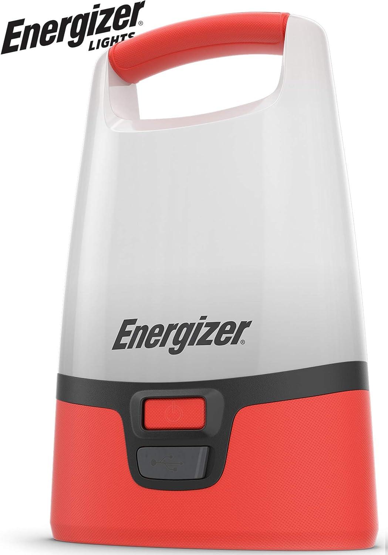 Energizer Led Folding Lantern Weather Ready 500 Lumens New Red 50 Hours