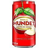 Sidral Mundet, Sabor Manzana, 12 Pack - 235 ml/lata