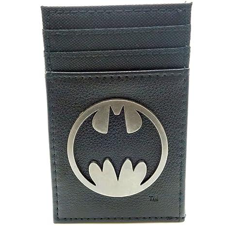 Cartera de DC Batman Delgado Negro