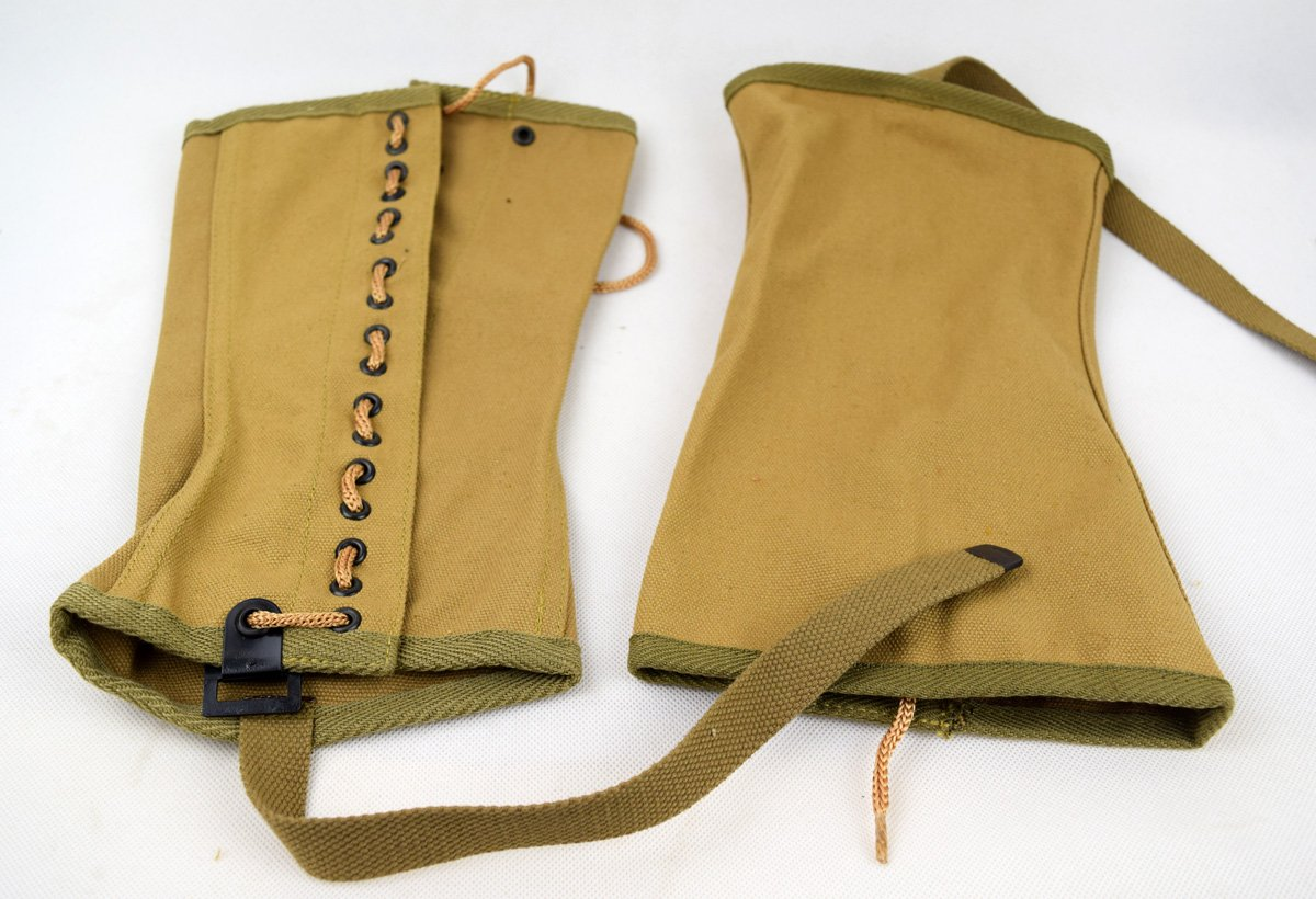 Replica WWII US Canvas Pants Gaiter Leggings Puttee by Chengxiang (Image #3)
